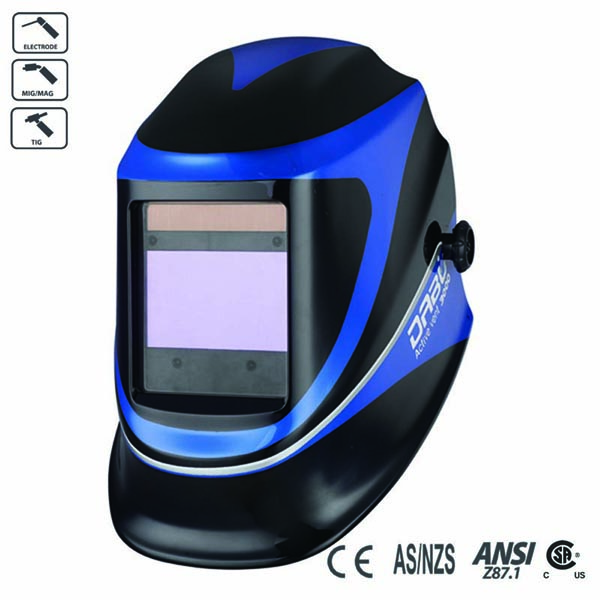 DABU FREE Auto Darkening Welding Mask Black Matte Welding Helmet Graphic